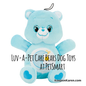Luv-A-Pet Care Bears Dog Toys from PetSmart