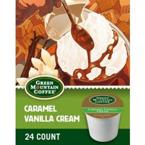 Caramel Vanilla Cream K-cup's