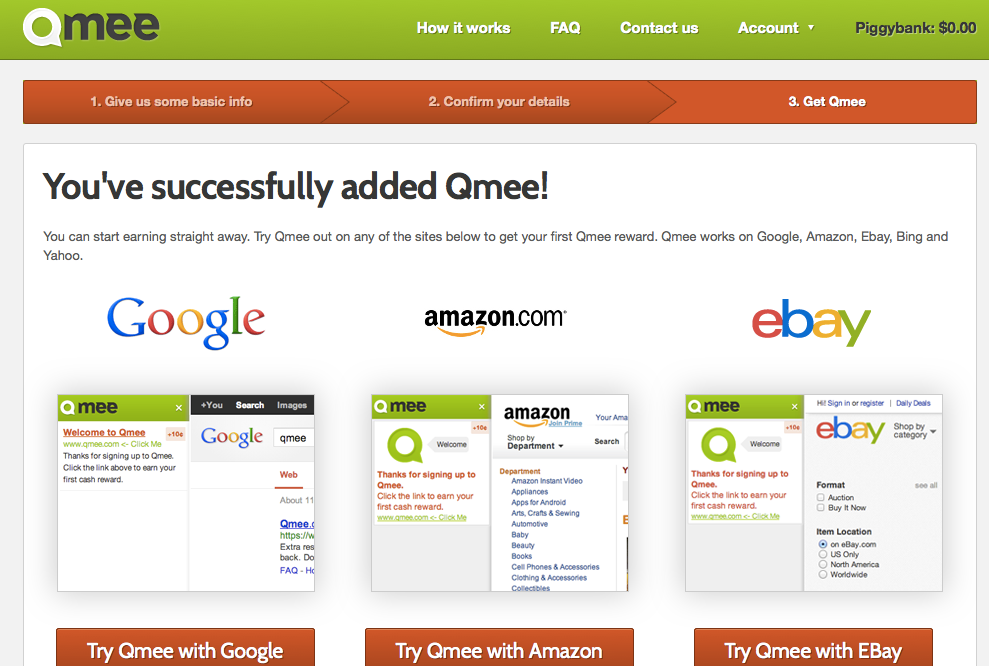Earn Money While Searching Online with Qmee