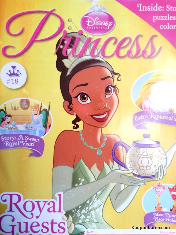 Disney Princess Magazine only $13.99 a Year {an inside look at the ...