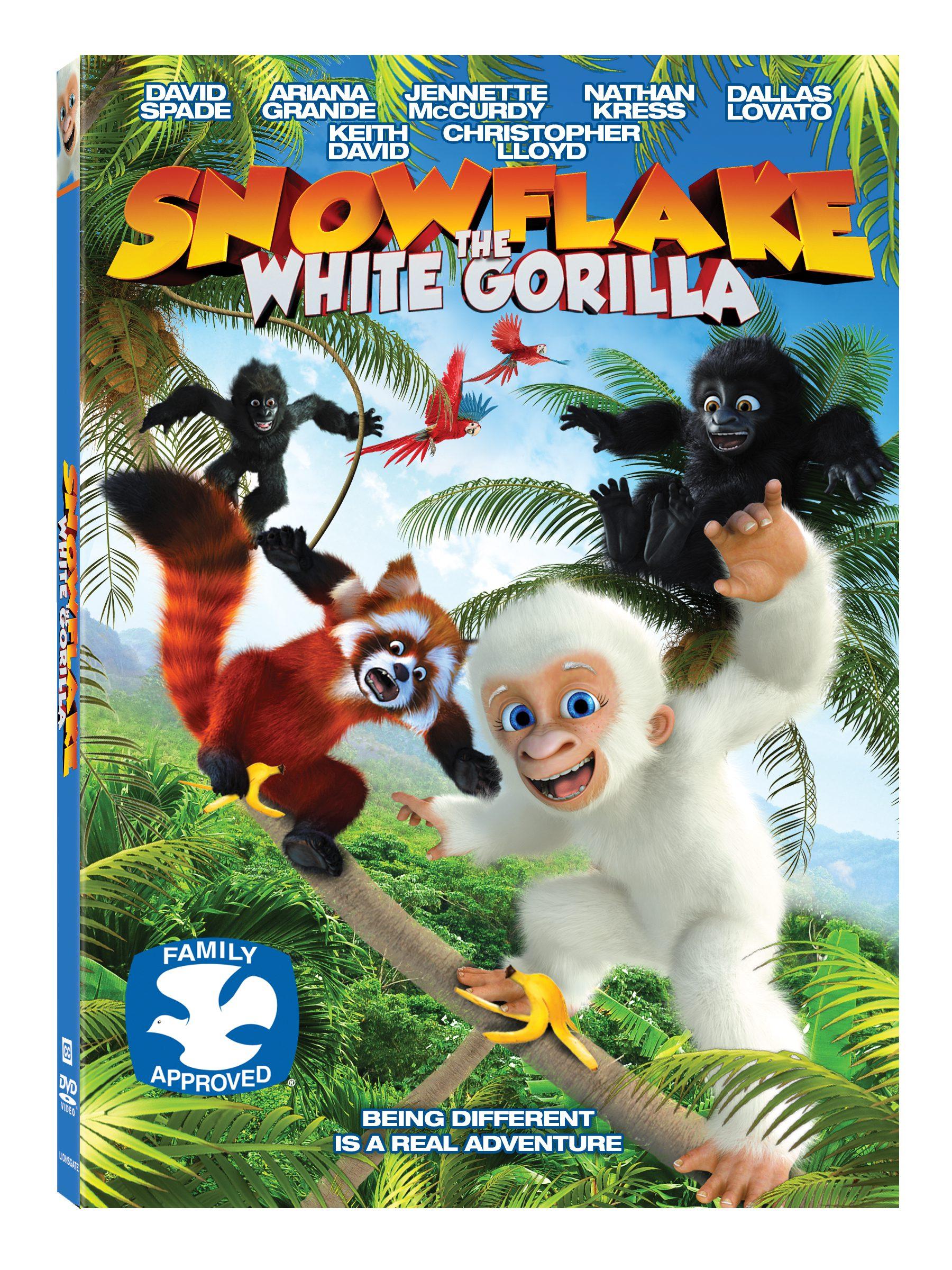 Uncategorized Snowflake The White Gorilla snowflake the white gorilla dvd review giveaway
