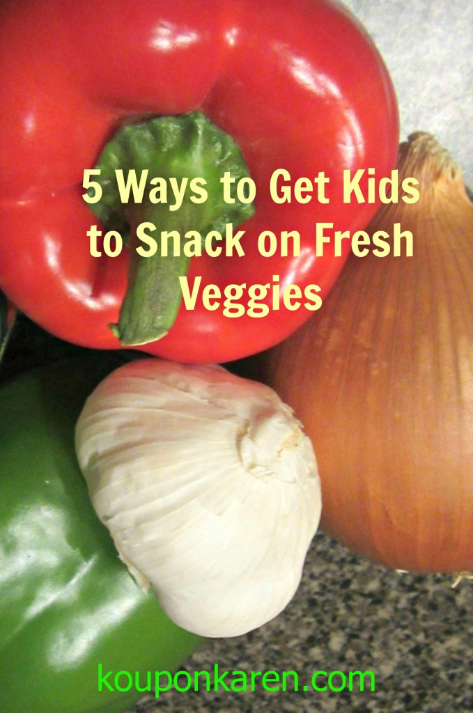 KAREN 5 ways to get kids to snack on fresh veggies ready for url