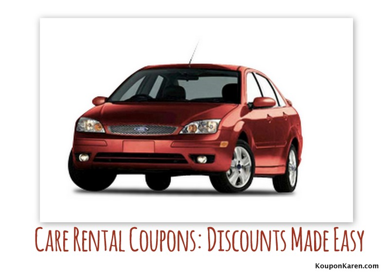 Car rental coupons discount made easy - Code promo made com ...