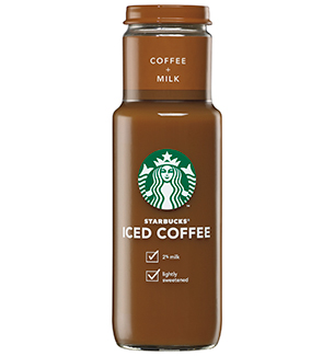 starbucks bottled ice coffee