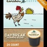 Caribou Daybreak Morning Blend K-cups only $11.99