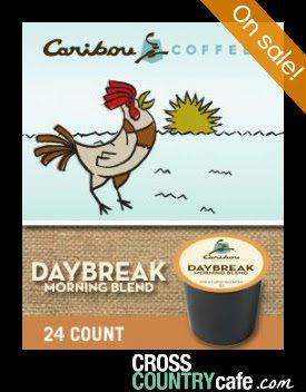caribou daybreak