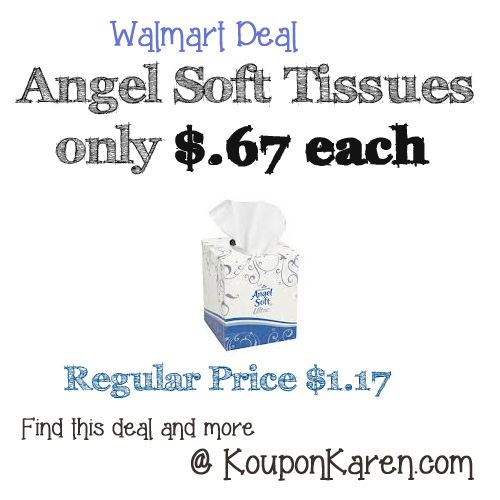 Angel Soft Deal at Walmart