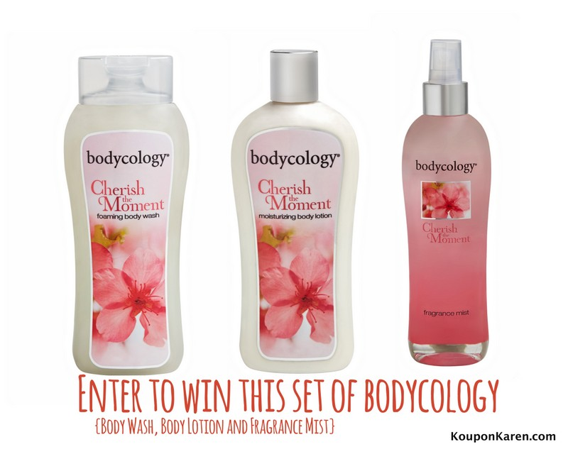 Bodycology giveaway