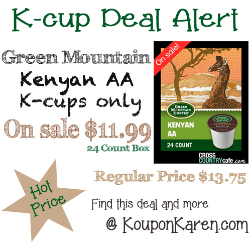 Kenyon Kcup deal