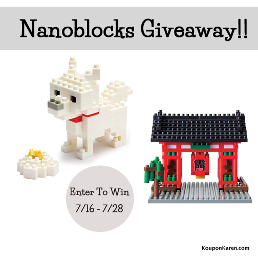 Nano Block Giveaway