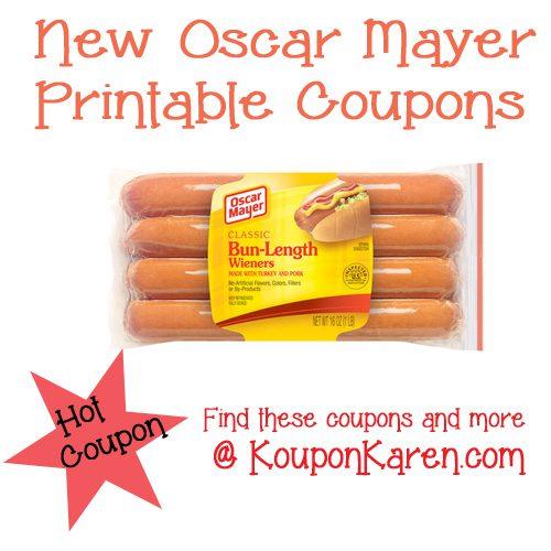 Oscar Mayer Printable Coupon