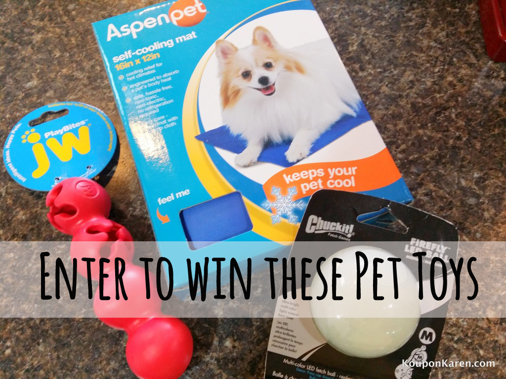 Pet Toy Giveaway