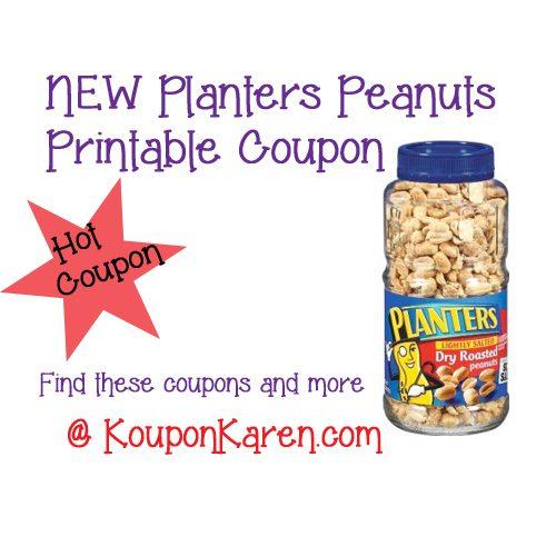 Planters Peanuts Printable Coupon