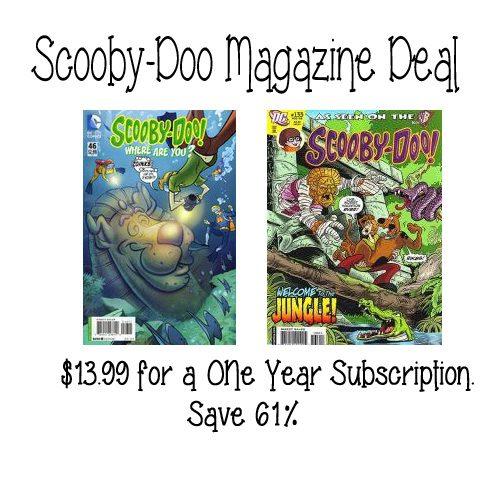 Scooby Doo Magazine Sale