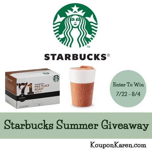 Starbucks summer Giveaway