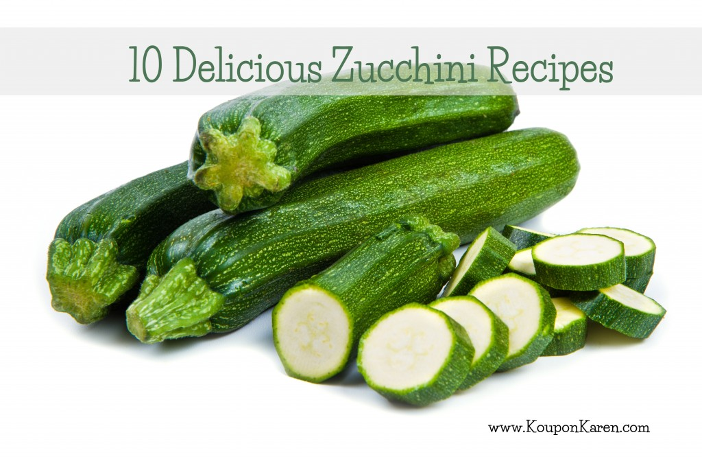 10 Delicious Zucchini Recipes