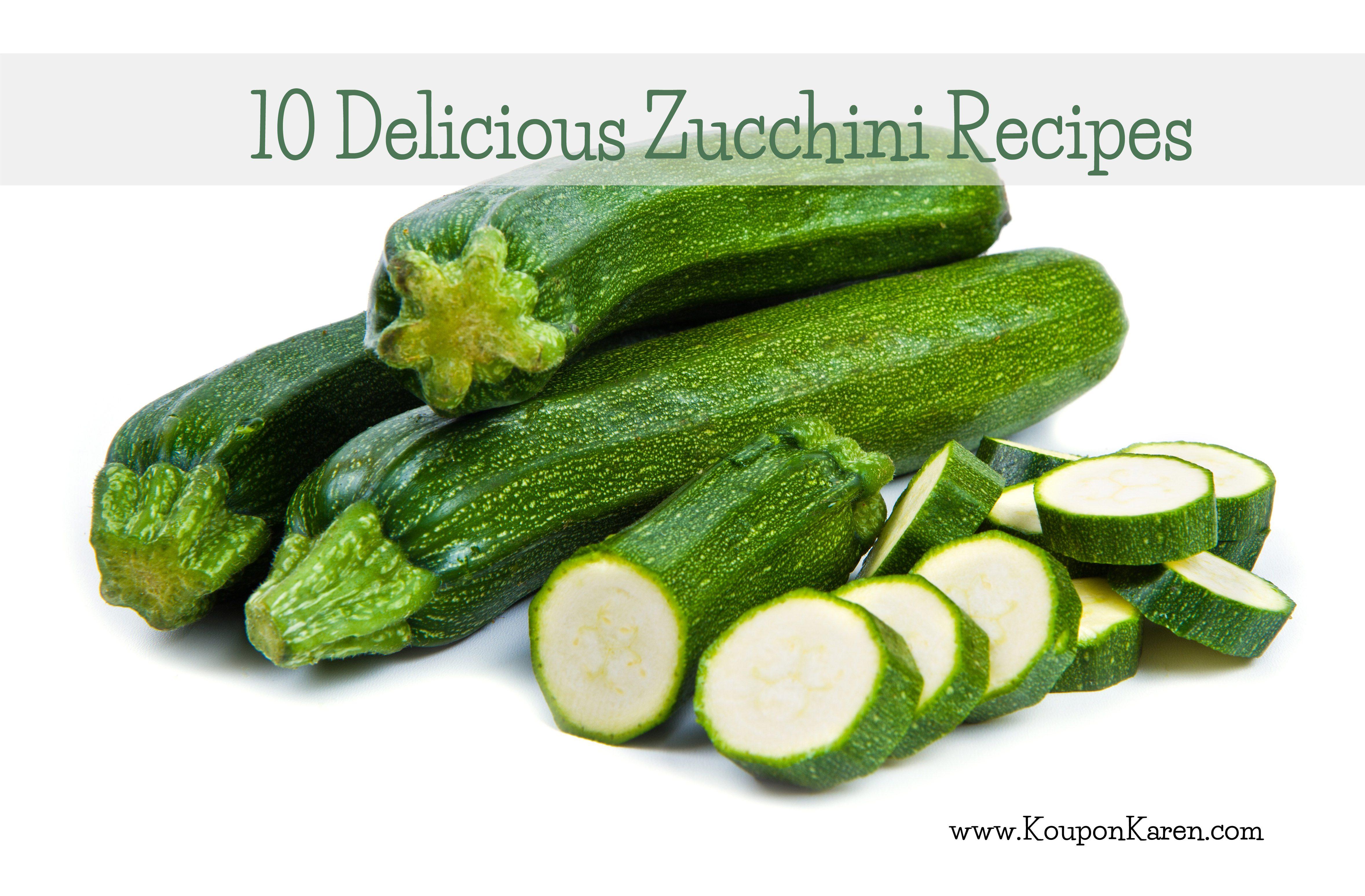 10 Delicious Zucchini Recipes