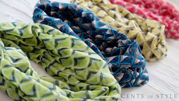 cent of style scarf sale