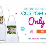 Make a Custom Apron for only $5 + Shipping ($14.99 ..