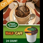 Green Mountain Half Caff K-Cups 24 Count For $11.99