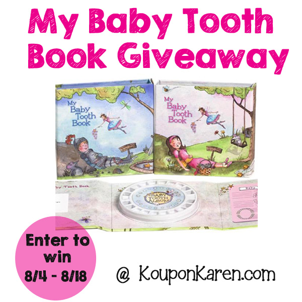 Baby Tooth Book Giveaway