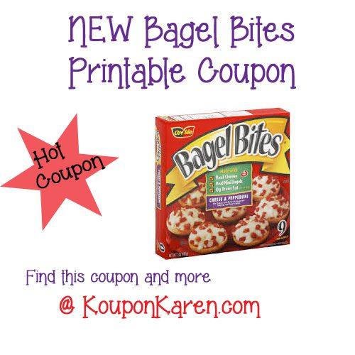 Bagel Bites Printable Coupon