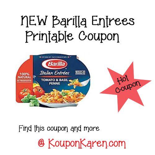 Barilla coupons printable 2019