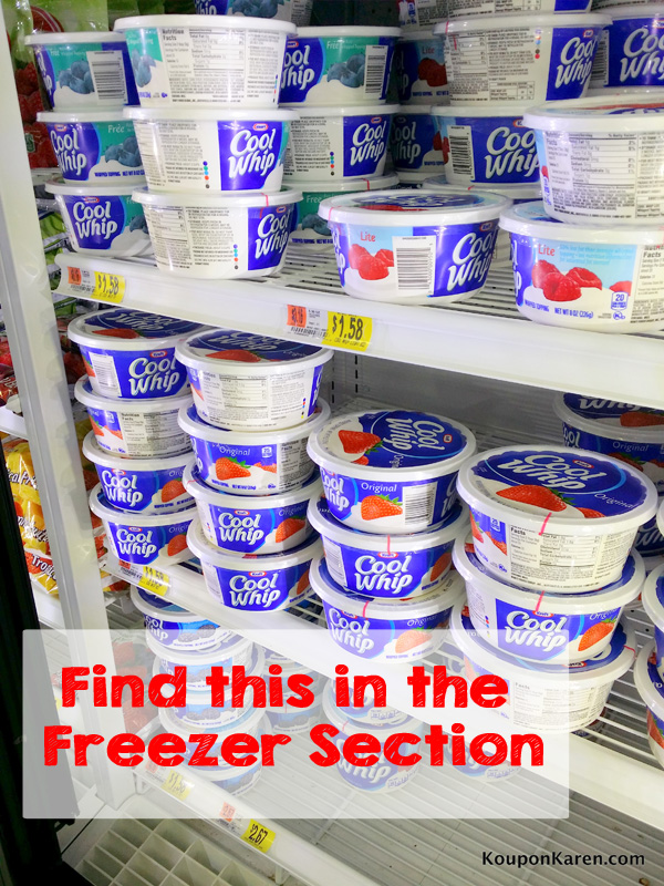 Cool Whip at Walmart #shop