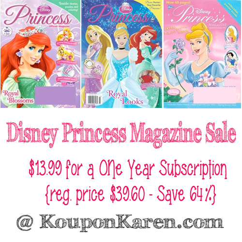 Disney-Princess-Magazine-Sale