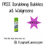 FREE Scrubbing Bubbles Bathroom Cleaner at Walgreens
