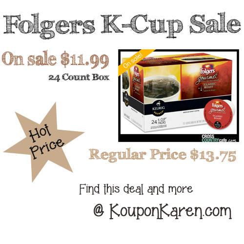 Folgers-Kcup-Deal