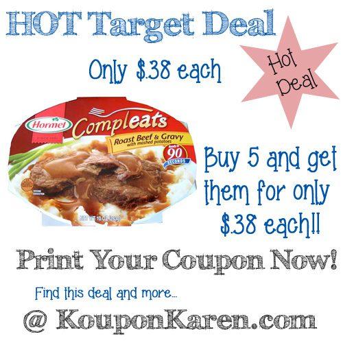 Hormel-Compleats-Target-Deal