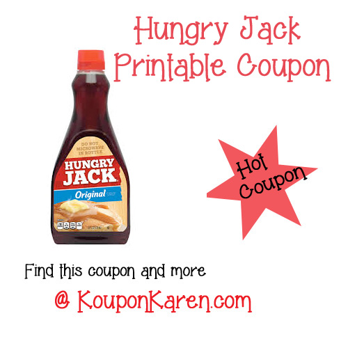 Hungry jacks discount coupons
