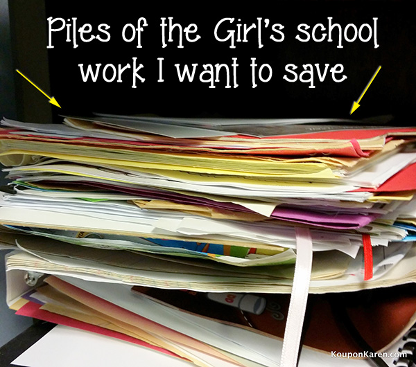 Image of School Work to File