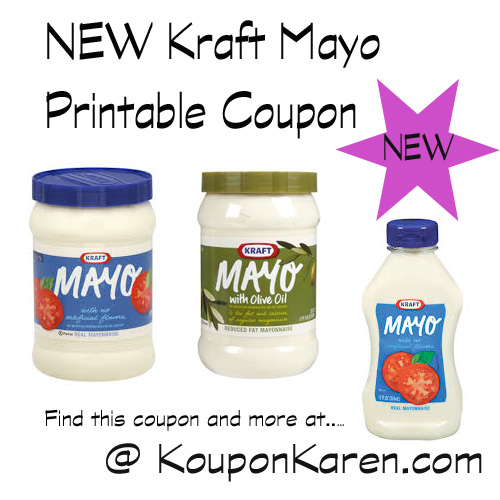 coupon for kraft olive oil mayonnaise