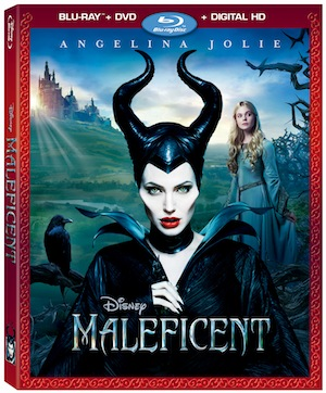 Maleficent on blu-ray