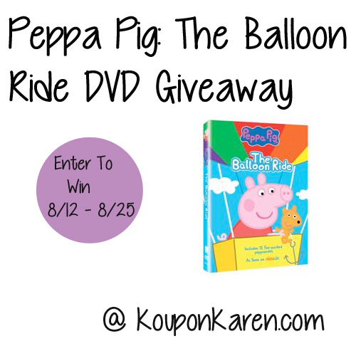 Peppa-Pig-The-Balloon-Ride-Dvd-Giveaway