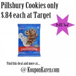 Pillsbury Cookie Dough only $0.84 at Target