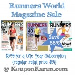 Runner's World Magazine Deal