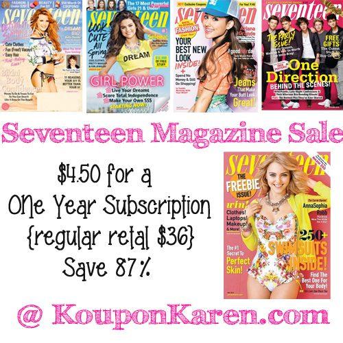 Seventeen-Magazine-Sale