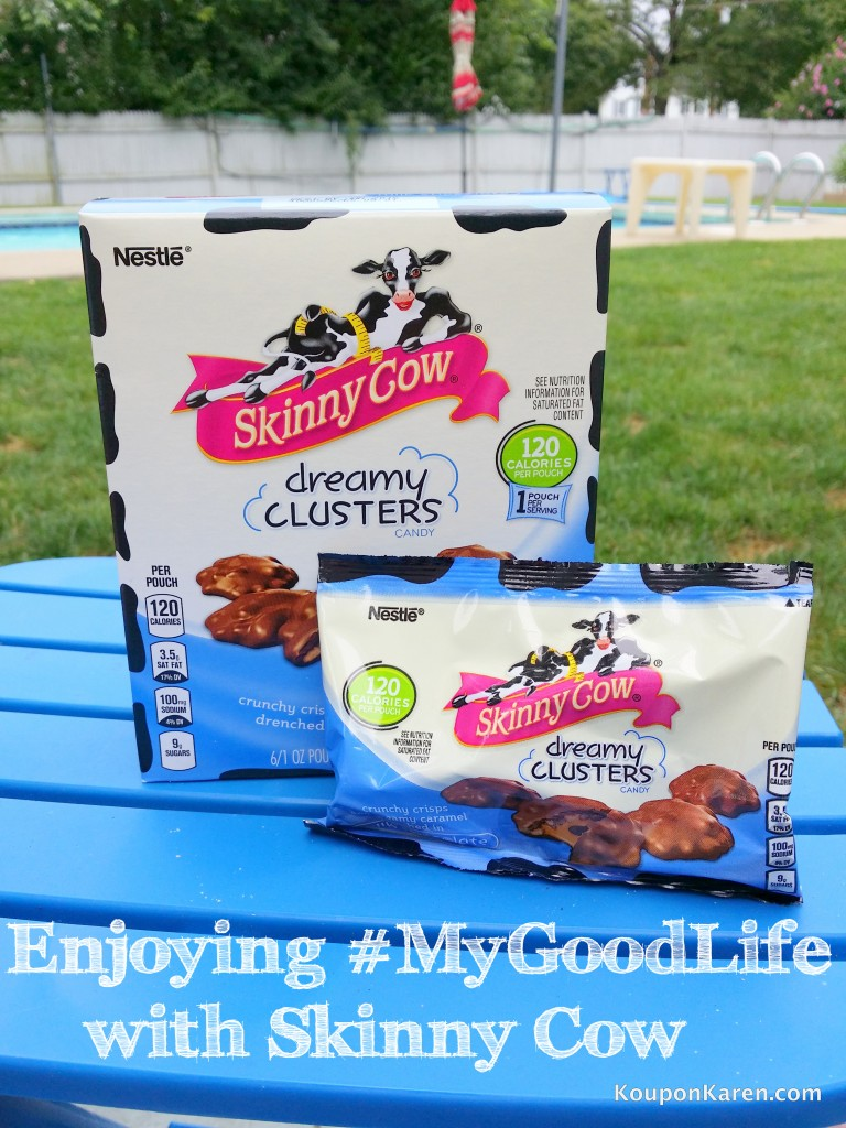 Enjoying my day with SKINNY COW® Ice Cream and Dreamy Clusters #MyGoodLife