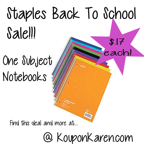 Staples-Back-To-School-Sale