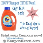 Tide Detergent only $2.44 at CVS (Starts 8/10)