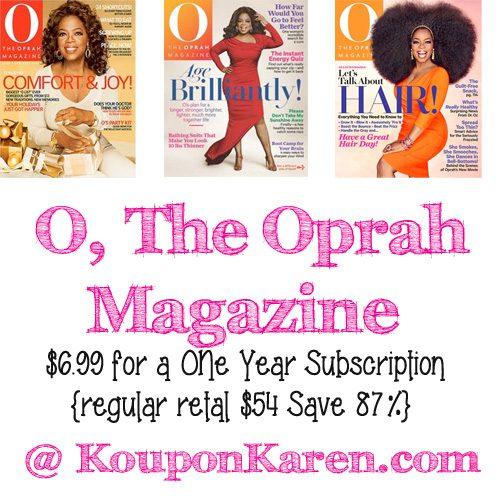 The Oprah Magazine Deal