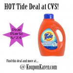 Tide Deal at CVS – only $1.94 (starting 8/24)