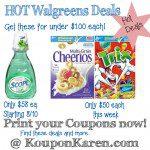 Today's Favorite Deals at Walgreens| Scope, Cheerios & Trix