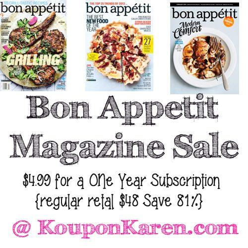 bon-appetit-magazine-sale