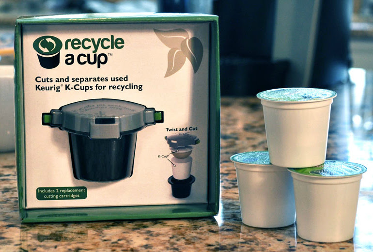 Recycle a K-cup unit