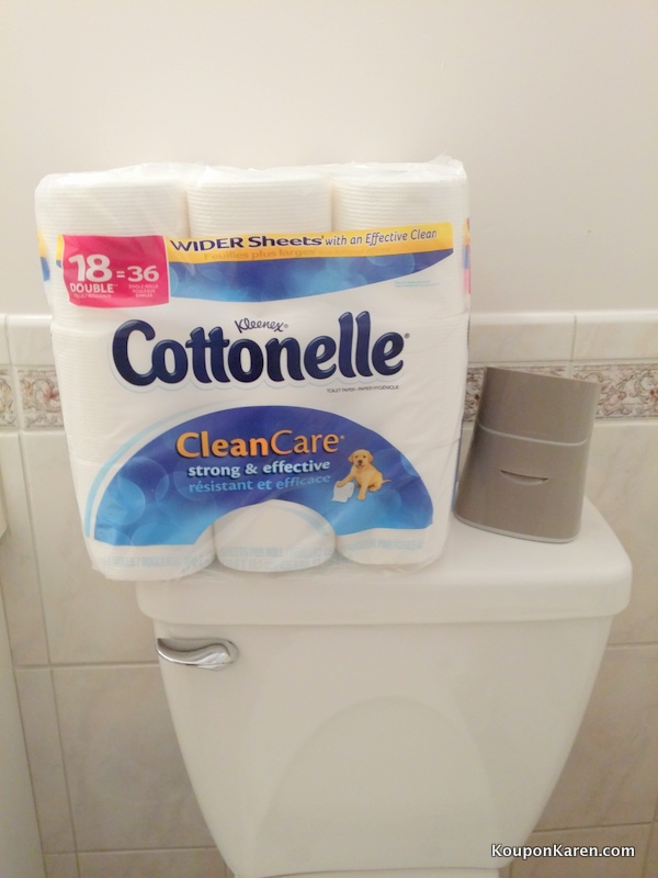Switch Your Bathroom Routines with Cottonelle and #LetsTalkBums