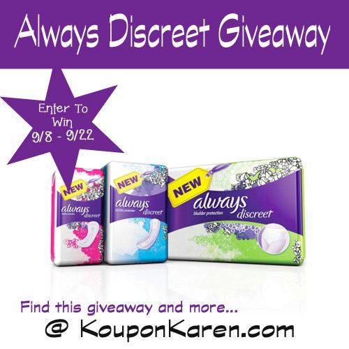 Always-Discreet-Giveaway